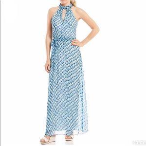 Calvin Klein Plaid Maxi Dress